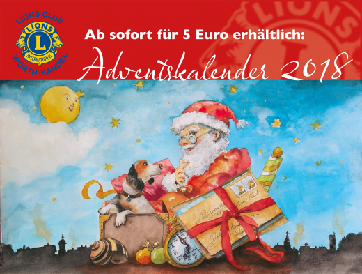 Adventskalender 2018 ab sofort für 5 Euro erhältlich