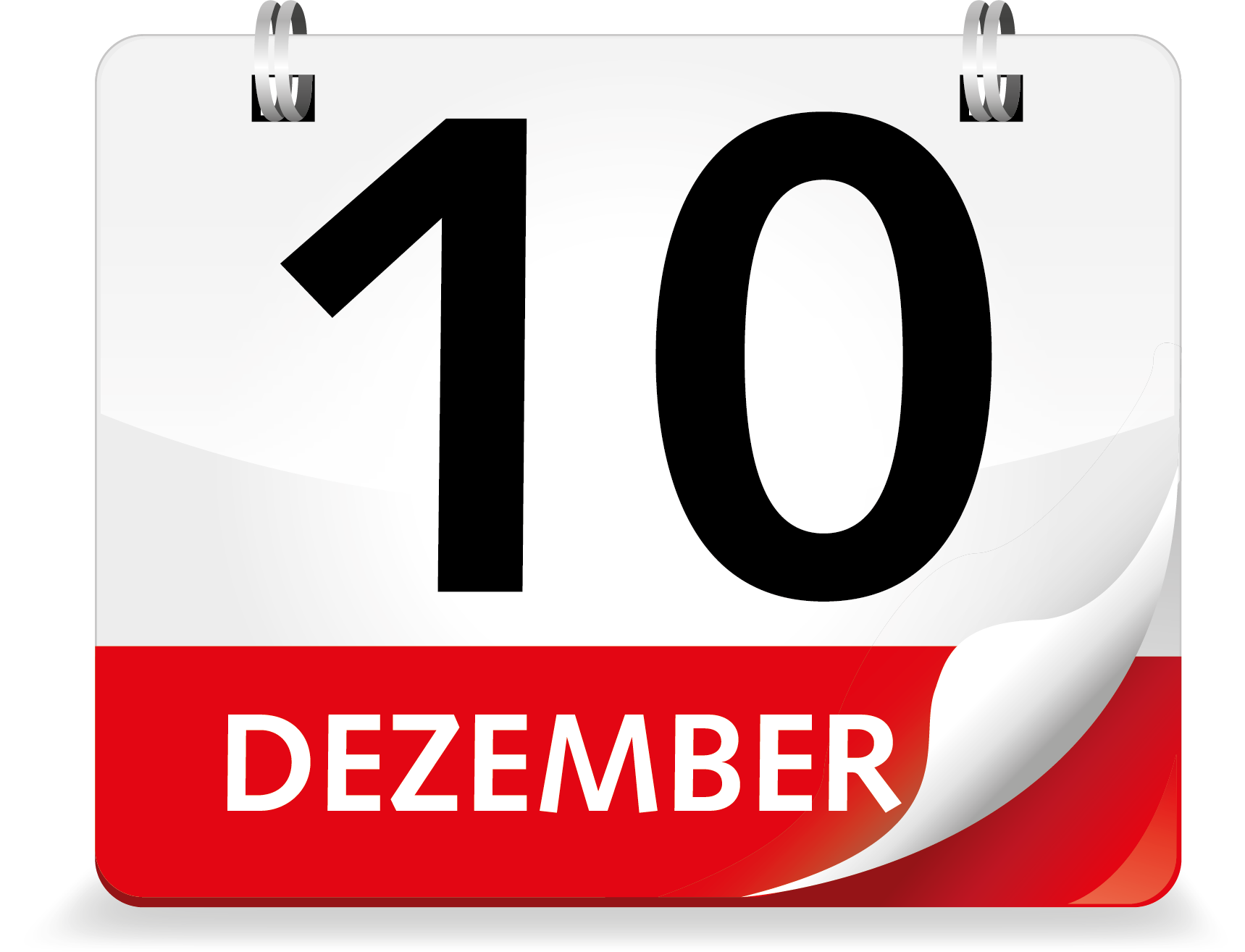 Kalenderblatt Dezember 10