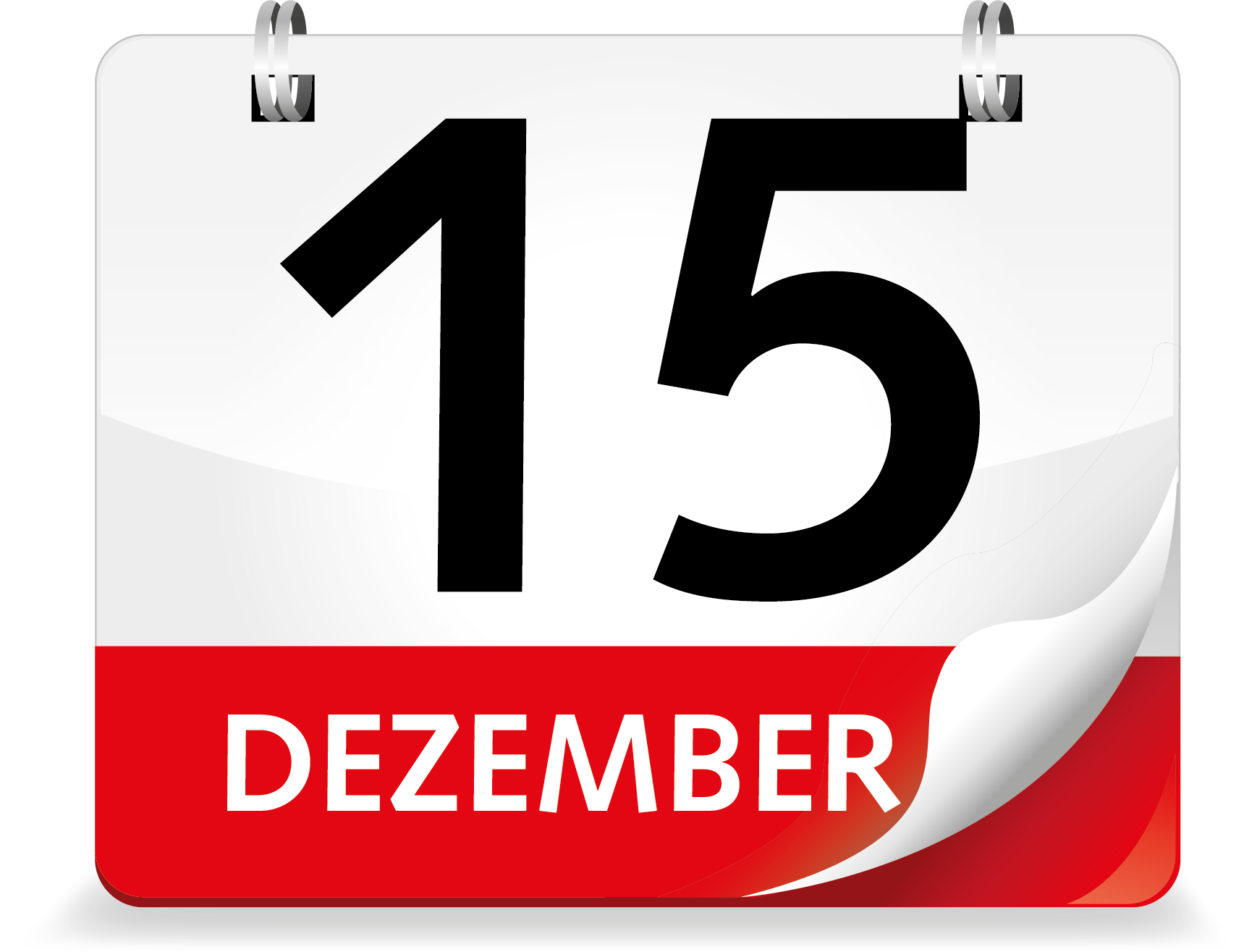 Kalenderblatt Dezember 15.