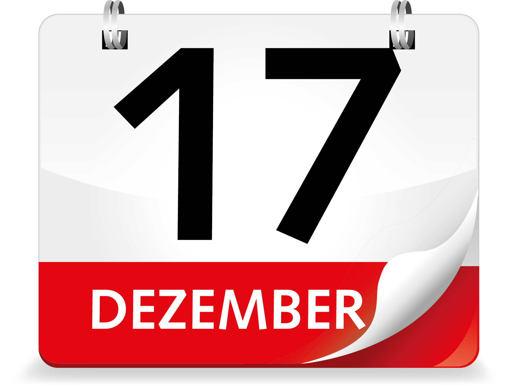 Kalenderblatt 17. Dezember