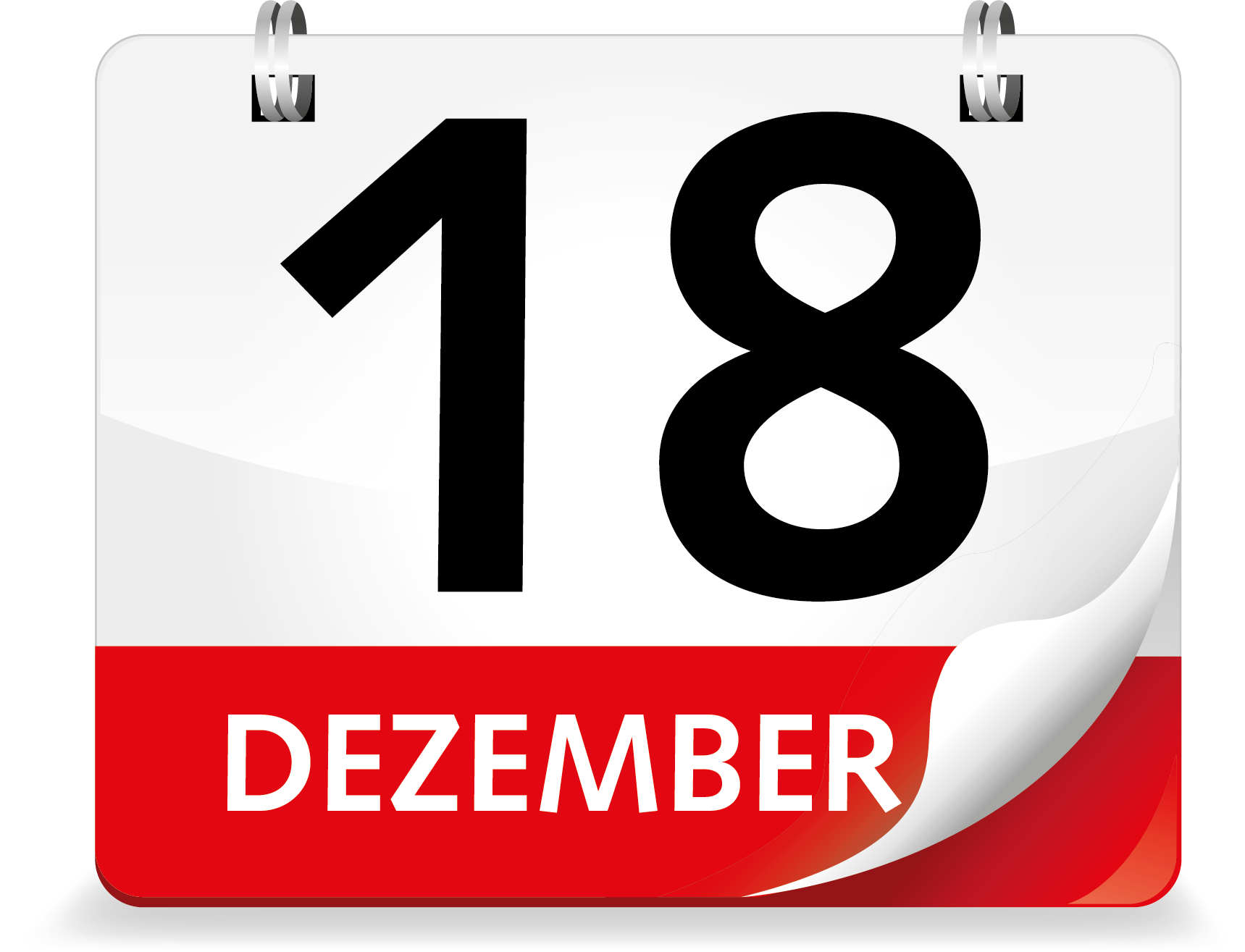 Kalenderblatt Dezember 18.
