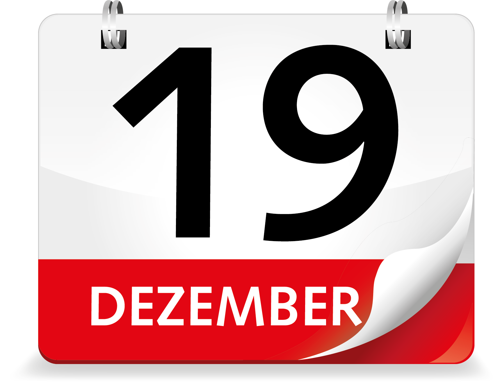 Kalenderblatt Dezember 19.
