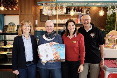 Hauptpreisübergabe Adventskalender Lions Club Wörth-Kandel