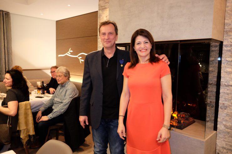 Dr. Hogrefe und Frau Gemenetzi
