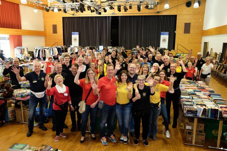 Voller Erfolg beim Lions Wohltätigkeits-Basar